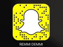 REMMI DEMMI bei Snapchat